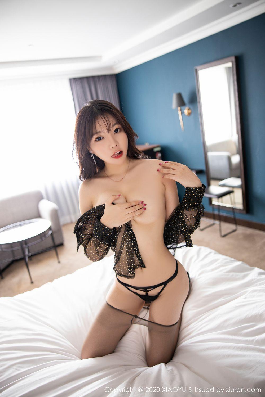 [XiaoYu] Vol.245 Chen Zhi 100P, Big Booty, Black Silk, Chen Zhi, XiaoYu