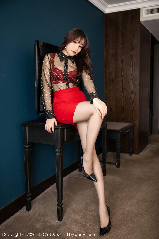 [XiaoYu] Vol.245 Chen Zhi 15P, Big Booty, Black Silk, Chen Zhi, XiaoYu