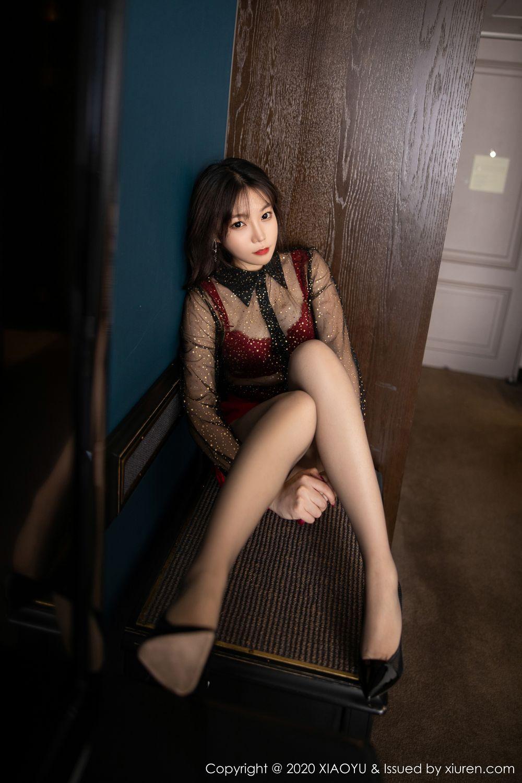 [XiaoYu] Vol.245 Chen Zhi 23P, Big Booty, Black Silk, Chen Zhi, XiaoYu
