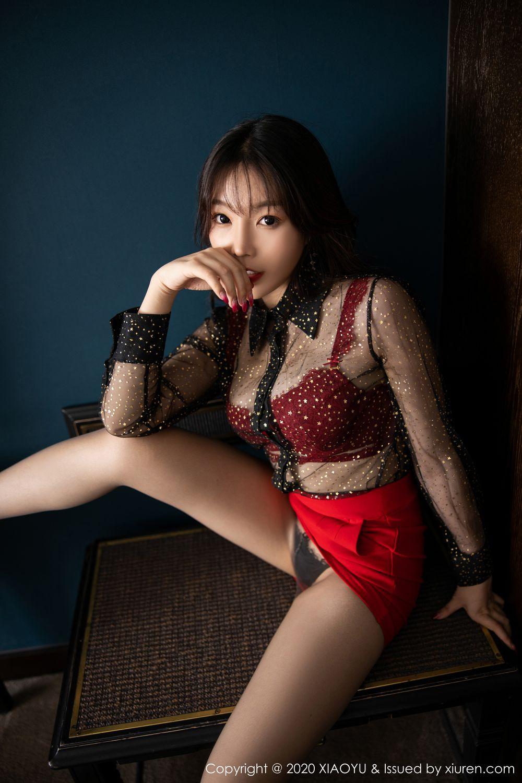 [XiaoYu] Vol.245 Chen Zhi 25P, Big Booty, Black Silk, Chen Zhi, XiaoYu