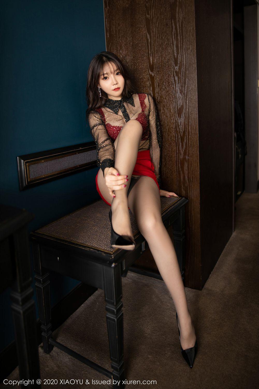 [XiaoYu] Vol.245 Chen Zhi 26P, Big Booty, Black Silk, Chen Zhi, XiaoYu