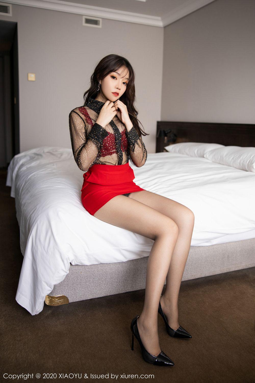 [XiaoYu] Vol.245 Chen Zhi 27P, Big Booty, Black Silk, Chen Zhi, XiaoYu
