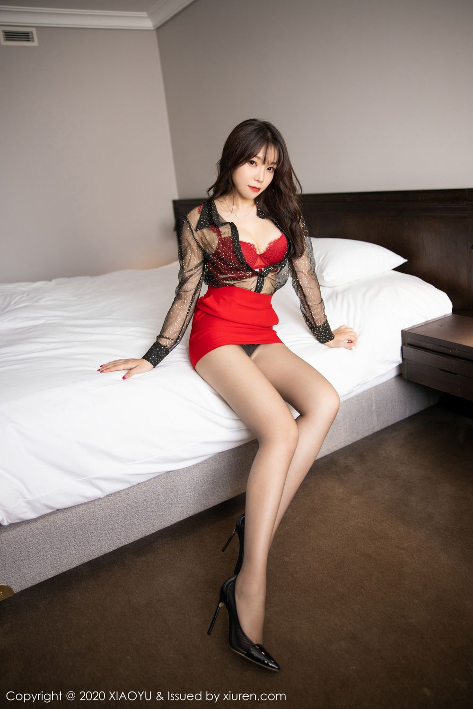 [XiaoYu] Vol.245 Chen Zhi 30P, Big Booty, Black Silk, Chen Zhi, XiaoYu