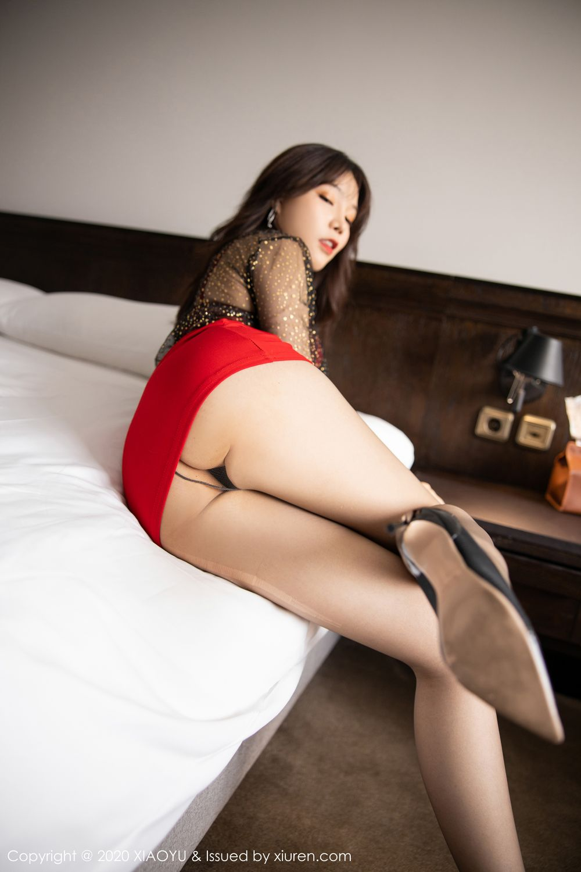 [XiaoYu] Vol.245 Chen Zhi 38P, Big Booty, Black Silk, Chen Zhi, XiaoYu