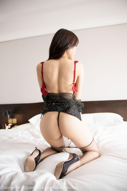 [XiaoYu] Vol.245 Chen Zhi 83P, Big Booty, Black Silk, Chen Zhi, XiaoYu