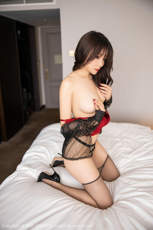 [XiaoYu] Vol.245 Chen Zhi 84P, Big Booty, Black Silk, Chen Zhi, XiaoYu