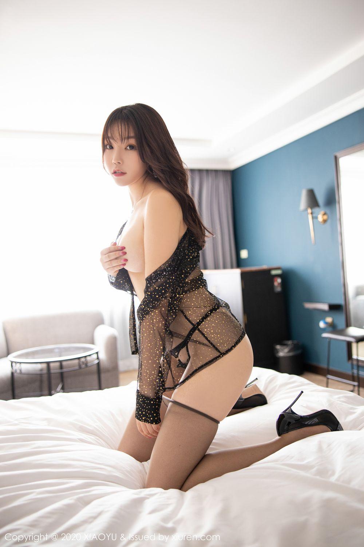 [XiaoYu] Vol.245 Chen Zhi 86P, Big Booty, Black Silk, Chen Zhi, XiaoYu