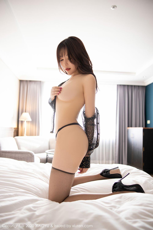 [XiaoYu] Vol.245 Chen Zhi 87P, Big Booty, Black Silk, Chen Zhi, XiaoYu