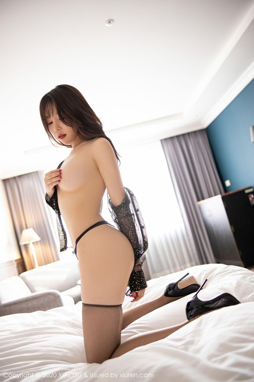 [XiaoYu] Vol.245 Chen Zhi 88P, Big Booty, Black Silk, Chen Zhi, XiaoYu