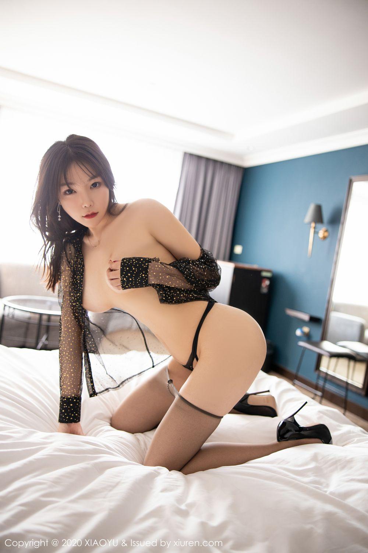 [XiaoYu] Vol.245 Chen Zhi 89P, Big Booty, Black Silk, Chen Zhi, XiaoYu
