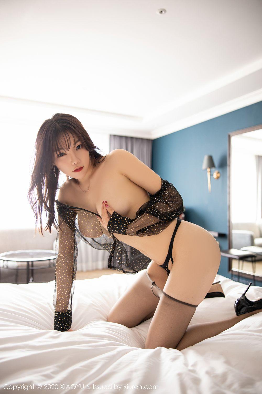 [XiaoYu] Vol.245 Chen Zhi 90P, Big Booty, Black Silk, Chen Zhi, XiaoYu