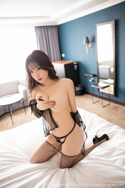[XiaoYu] Vol.245 Chen Zhi 94P, Big Booty, Black Silk, Chen Zhi, XiaoYu