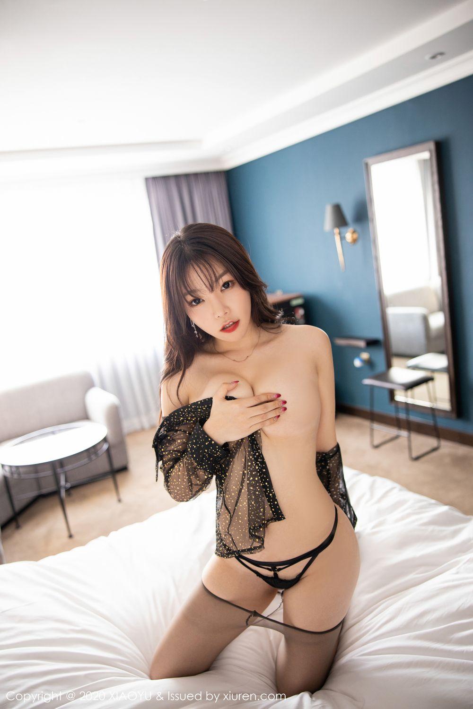[XiaoYu] Vol.245 Chen Zhi 95P, Big Booty, Black Silk, Chen Zhi, XiaoYu
