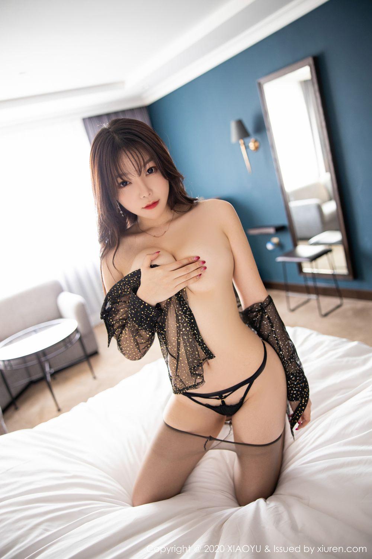 [XiaoYu] Vol.245 Chen Zhi 96P, Big Booty, Black Silk, Chen Zhi, XiaoYu