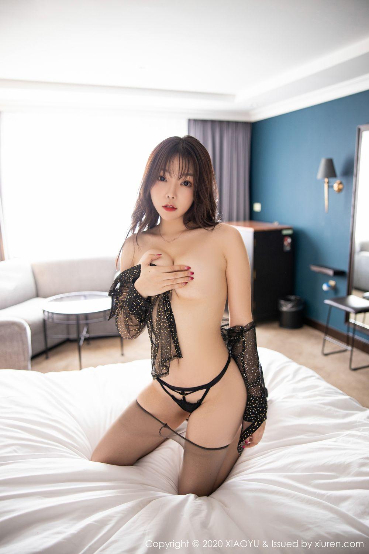 [XiaoYu] Vol.245 Chen Zhi 97P, Big Booty, Black Silk, Chen Zhi, XiaoYu