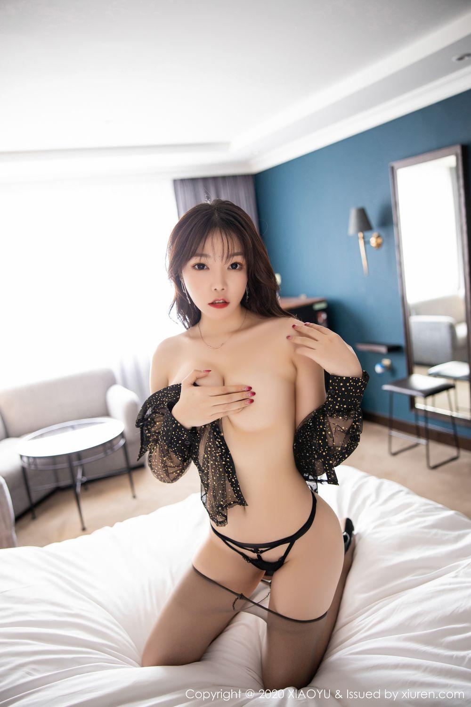 [XiaoYu] Vol.245 Chen Zhi 99P, Big Booty, Black Silk, Chen Zhi, XiaoYu