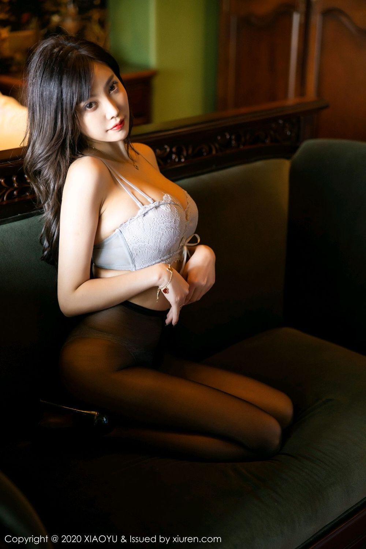 [XiaoYu] Vol.247 Yang Chen Chen 80P, Black Silk, Cheongsam, XiaoYu, Yang Chen Chen