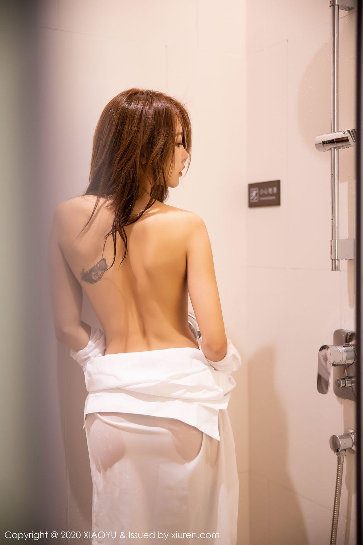 [XiaoYu] Vol.249 Feng Mu Mu 69P, Black Silk, Feng Mu Mu, Wet, XiaoYu