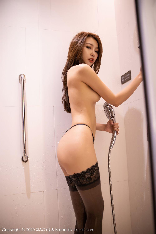 [XiaoYu] Vol.249 Feng Mu Mu 72P, Black Silk, Feng Mu Mu, Wet, XiaoYu
