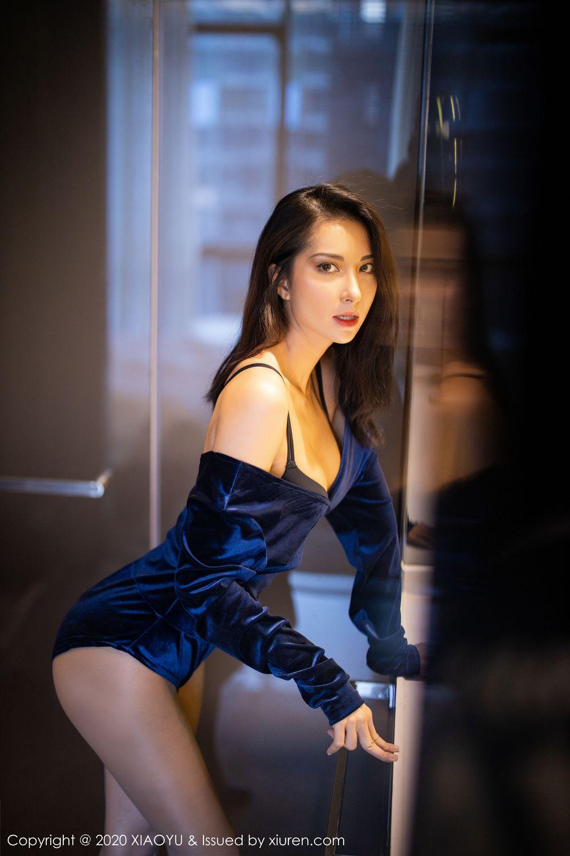 [XiaoYu] Vol.250 Carry 18P, Chen Liang Ling, Tall, Temperament, XiaoYu