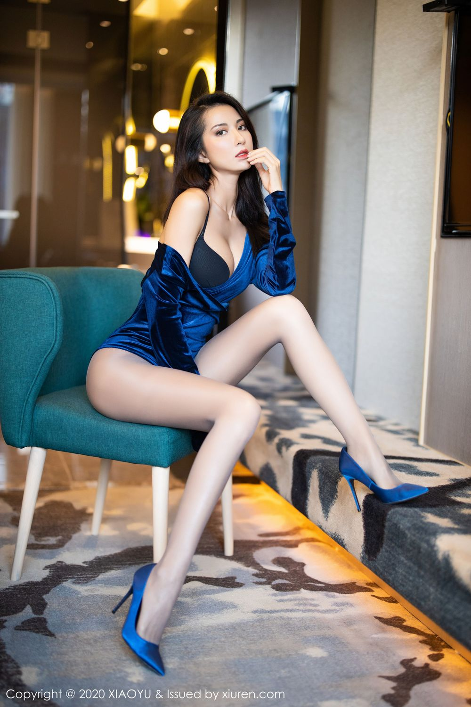 [XiaoYu] Vol.250 Carry 2P, Chen Liang Ling, Tall, Temperament, XiaoYu