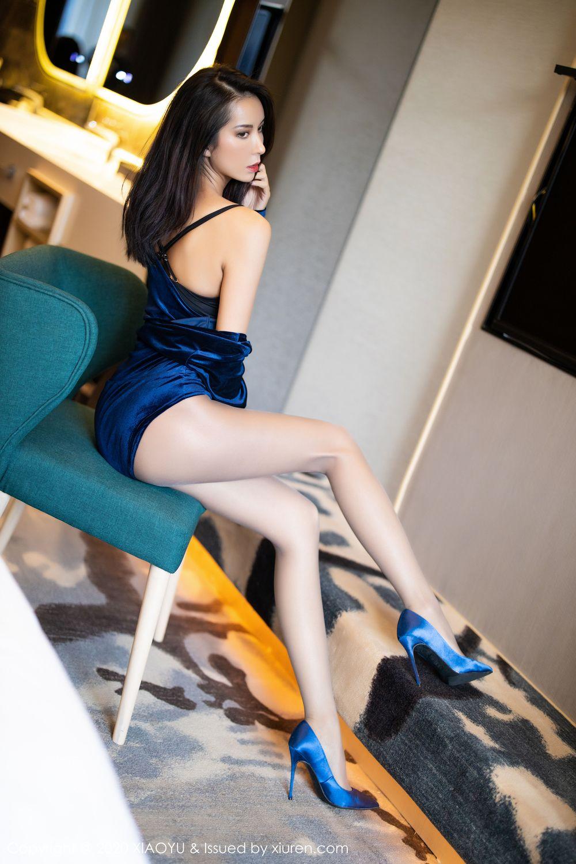 [XiaoYu] Vol.250 Carry 36P, Chen Liang Ling, Tall, Temperament, XiaoYu