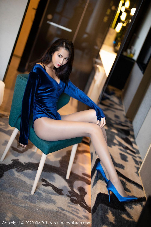 [XiaoYu] Vol.250 Carry 45P, Chen Liang Ling, Tall, Temperament, XiaoYu
