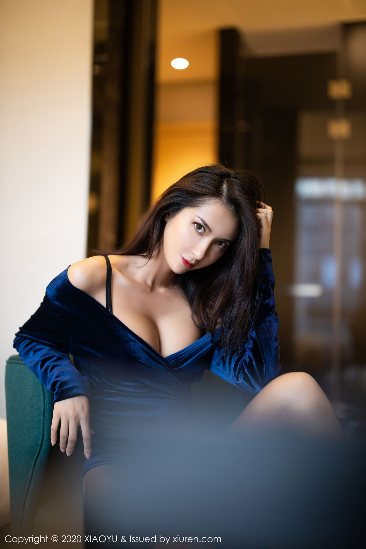 [XiaoYu] Vol.250 Carry 49P, Chen Liang Ling, Tall, Temperament, XiaoYu