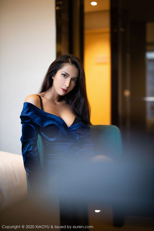 [XiaoYu] Vol.250 Carry 50P, Chen Liang Ling, Tall, Temperament, XiaoYu