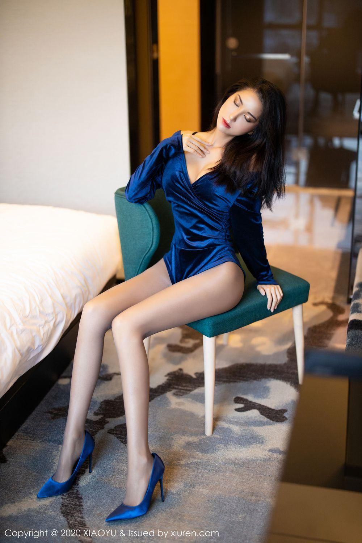 [XiaoYu] Vol.250 Carry 51P, Chen Liang Ling, Tall, Temperament, XiaoYu