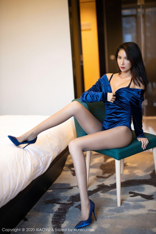 [XiaoYu] Vol.250 Carry 53P, Chen Liang Ling, Tall, Temperament, XiaoYu