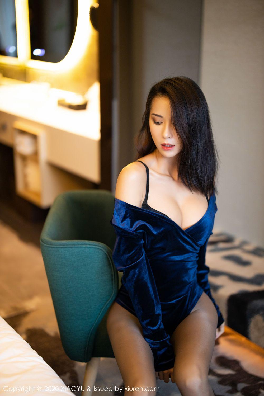 [XiaoYu] Vol.250 Carry 56P, Chen Liang Ling, Tall, Temperament, XiaoYu