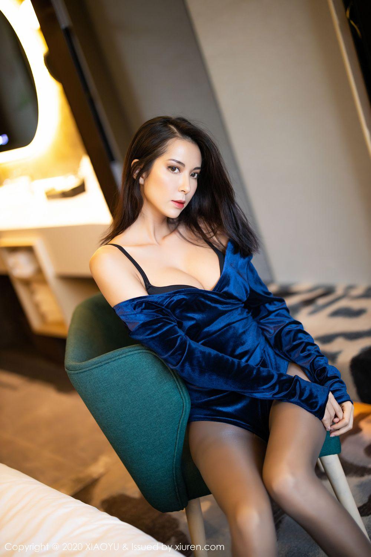 [XiaoYu] Vol.250 Carry 57P, Chen Liang Ling, Tall, Temperament, XiaoYu