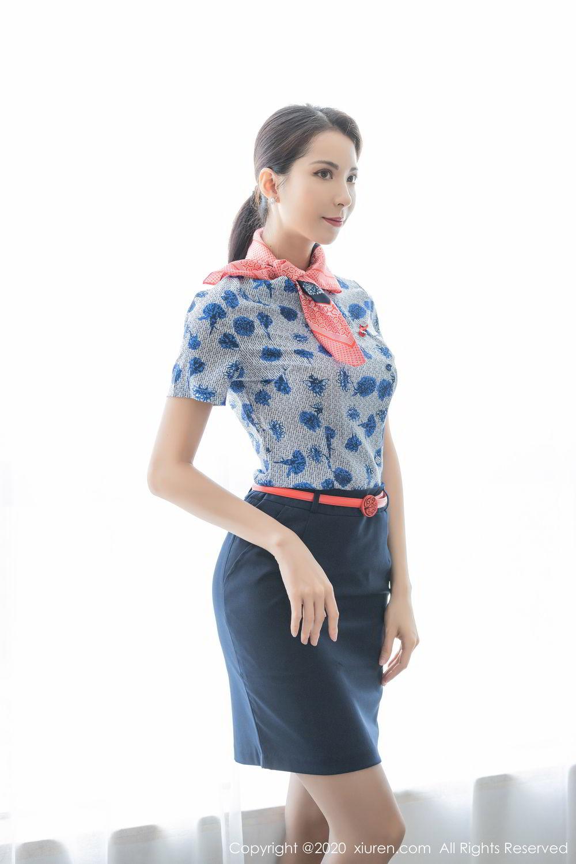 [XiaoYu] Vol.250 Carry 12P, Chen Liang Ling, Tall, Temperament, Uniform, XiaoYu