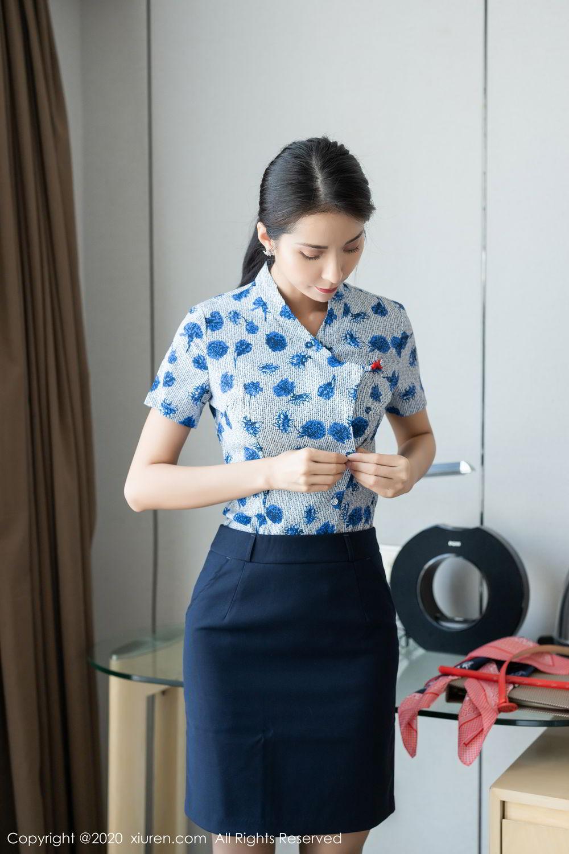 [XiaoYu] Vol.250 Carry 14P, Chen Liang Ling, Tall, Temperament, Uniform, XiaoYu