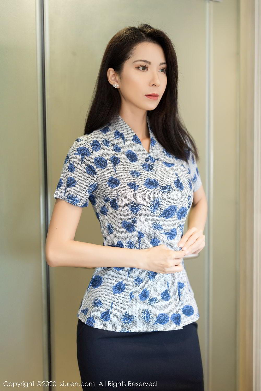 [XiaoYu] Vol.250 Carry 1P, Chen Liang Ling, Tall, Temperament, Uniform, XiaoYu