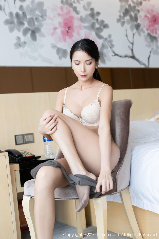[XiaoYu] Vol.250 Carry 27P, Chen Liang Ling, Tall, Temperament, Uniform, XiaoYu