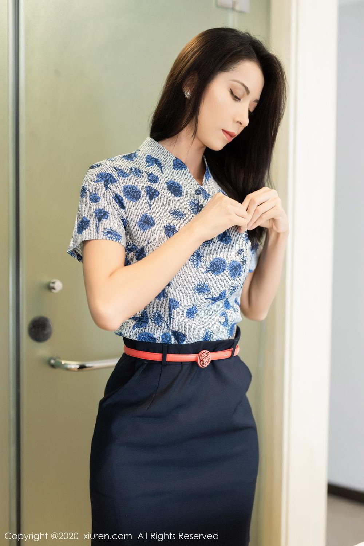 [XiaoYu] Vol.250 Carry 2P, Chen Liang Ling, Tall, Temperament, Uniform, XiaoYu