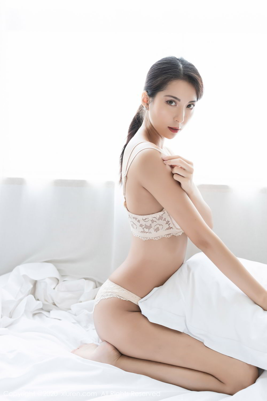 [XiaoYu] Vol.250 Carry 34P, Chen Liang Ling, Tall, Temperament, Uniform, XiaoYu