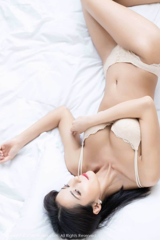 [XiaoYu] Vol.250 Carry 35P, Chen Liang Ling, Tall, Temperament, Uniform, XiaoYu