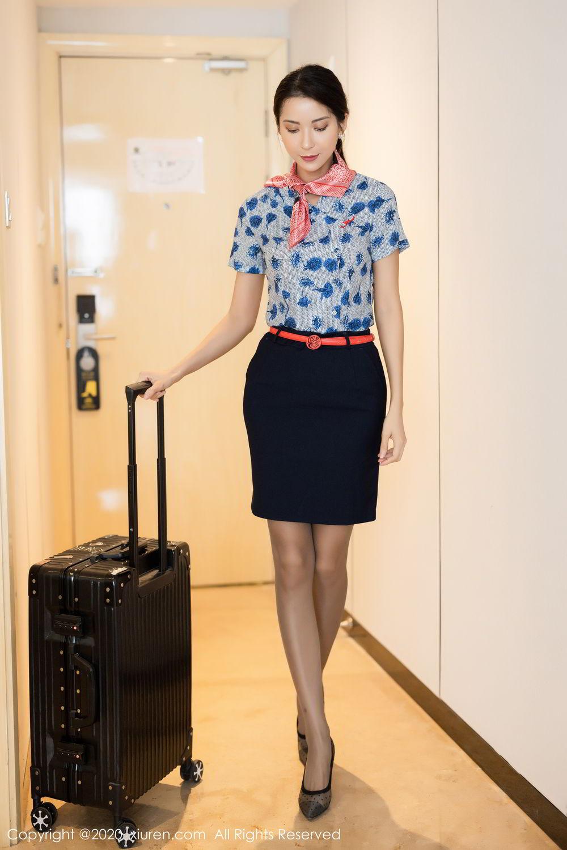 [XiaoYu] Vol.250 Carry 5P, Chen Liang Ling, Tall, Temperament, Uniform, XiaoYu