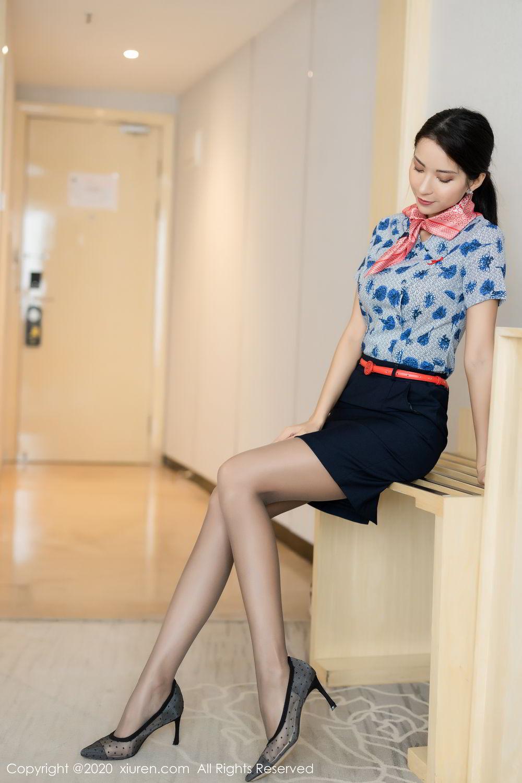 [XiaoYu] Vol.250 Carry 7P, Chen Liang Ling, Tall, Temperament, Uniform, XiaoYu