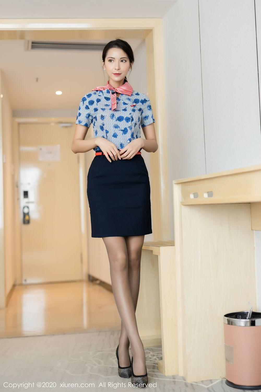 [XiaoYu] Vol.250 Carry 8P, Chen Liang Ling, Tall, Temperament, Uniform, XiaoYu