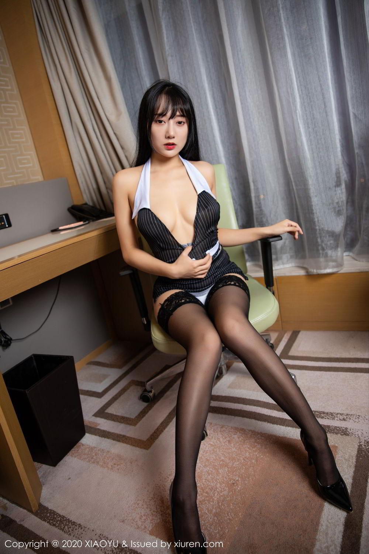 [XiaoYu] Vol.253 He Jia Ying 33P, Black Silk, He Jia Ying, Tall, Underwear, XiaoYu