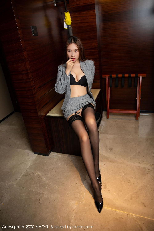 [XiaoYu] Vol.254 Yue Yin Tong 1P, Black Silk, Tall, Uniform, XiaoYu, Yue Yin Tong