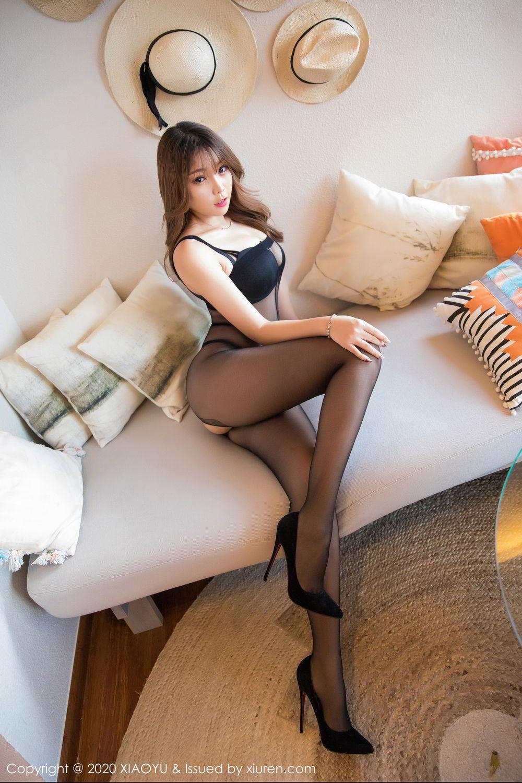 [XiaoYu] Vol.255 Zhi Zhi Booty 30P, Big Booty, Black Silk, Chen Zhi, Tall, XiaoYu