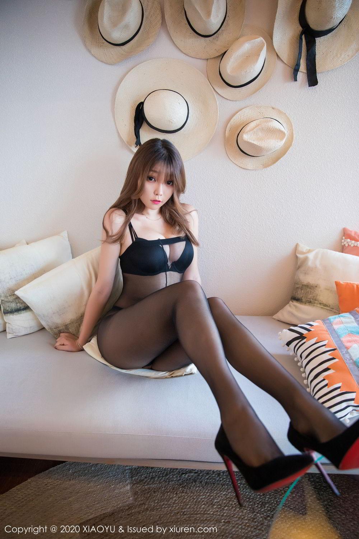 [XiaoYu] Vol.255 Zhi Zhi Booty 36P, Big Booty, Black Silk, Chen Zhi, Tall, XiaoYu