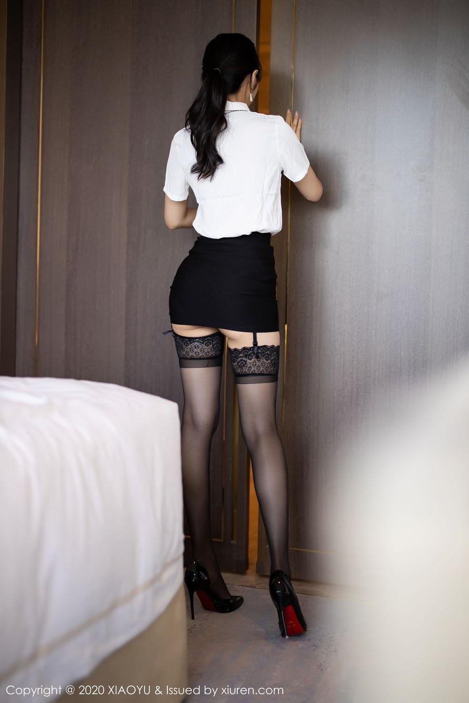 [XiaoYu] Vol.258 Xiao Re Ba 14P, Black Silk, Di Yi, Tall, XiaoYu