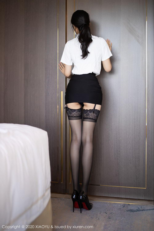 [XiaoYu] Vol.258 Xiao Re Ba 15P, Black Silk, Di Yi, Tall, XiaoYu