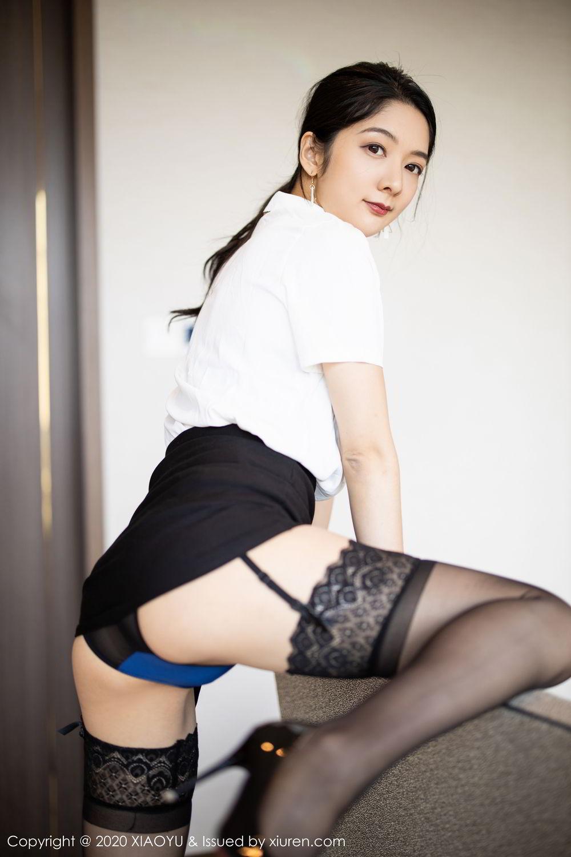 [XiaoYu] Vol.258 Xiao Re Ba 22P, Black Silk, Di Yi, Tall, XiaoYu